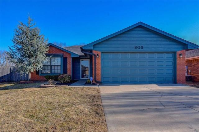 805 Peppertree Court, Norman, OK 73071 (MLS #802949) :: Wyatt Poindexter Group