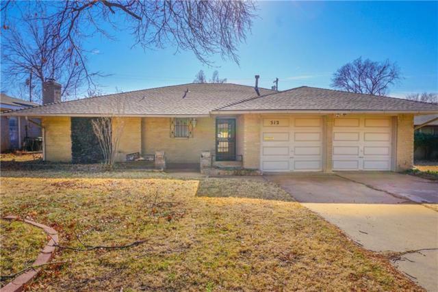 512 SW 63rd Terrace, Oklahoma City, OK 73139 (MLS #802993) :: Wyatt Poindexter Group
