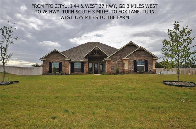 960 County Street 2982, Blanchard, OK 73010 (MLS #803068) :: Wyatt Poindexter Group