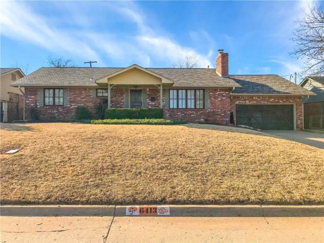 6413 Grandview Place, Oklahoma City, OK 73116 (MLS #803180) :: Wyatt Poindexter Group