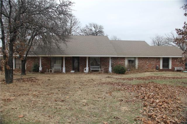 12152 N 3610 Road, Seminole, OK 74868 (MLS #803267) :: Erhardt Group at Keller Williams Mulinix OKC