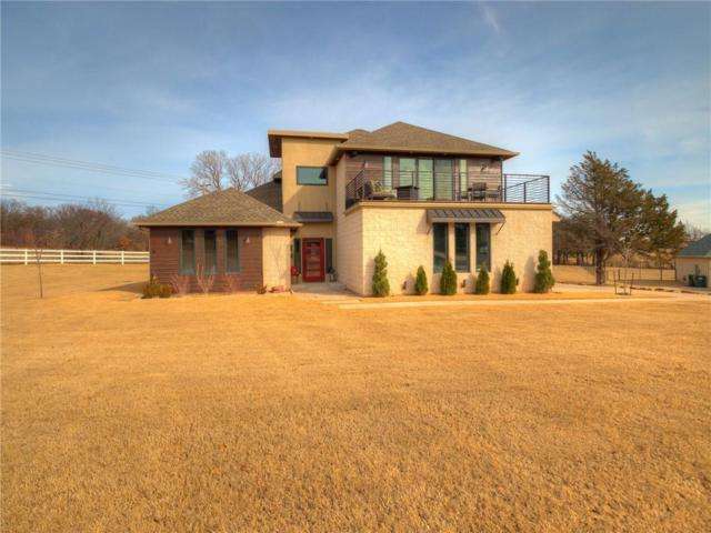 7713 Stone Valley Circle, Edmond, OK 73034 (MLS #803436) :: Wyatt Poindexter Group