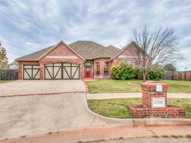 17109 Prestwick Circle, Edmond, OK 73012 (MLS #803650) :: Wyatt Poindexter Group
