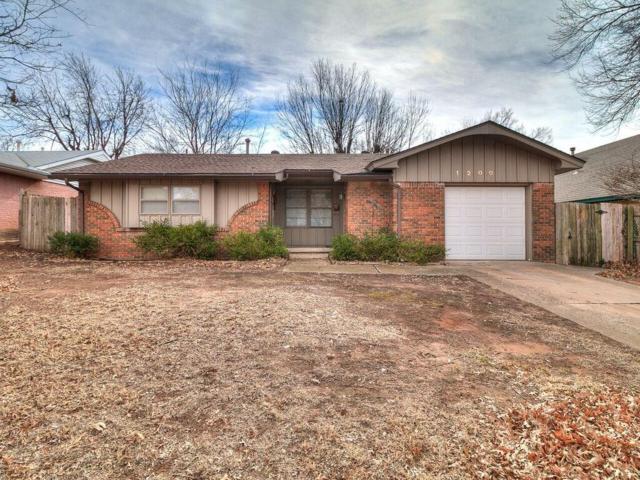 1200 W Havenwood, Midwest City, OK 73110 (MLS #803679) :: Wyatt Poindexter Group