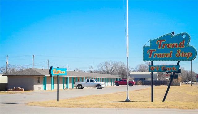 1000 W Cherokee Street, Lindsay, OK 73052 (MLS #803713) :: Wyatt Poindexter Group