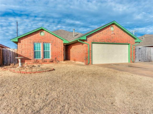 313 W Twisted Branch Way, Mustang, OK 73064 (MLS #803770) :: Wyatt Poindexter Group