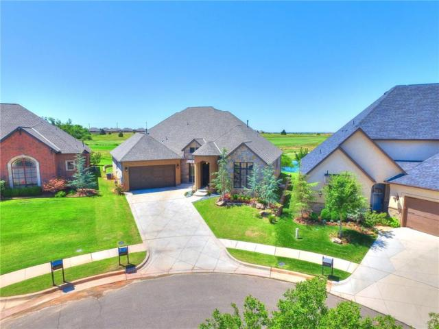 16709 Little Leaf Lane, Edmond, OK 73012 (MLS #804065) :: Homestead & Co
