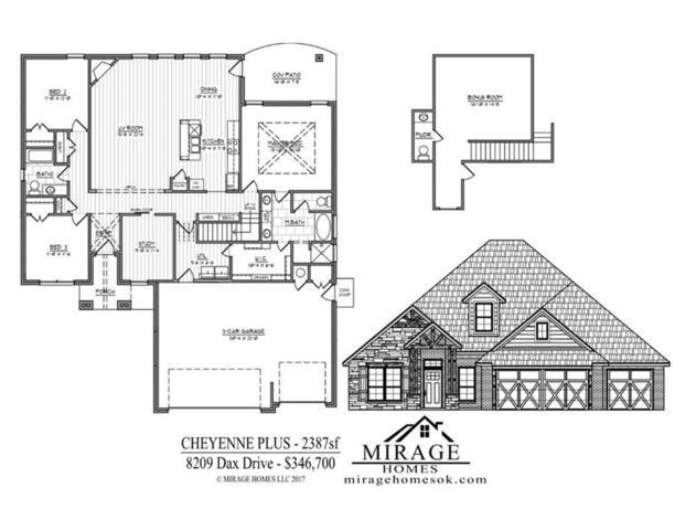 8209 Dax Drive, Edmond, OK 73034 (MLS #804117) :: Homestead & Co