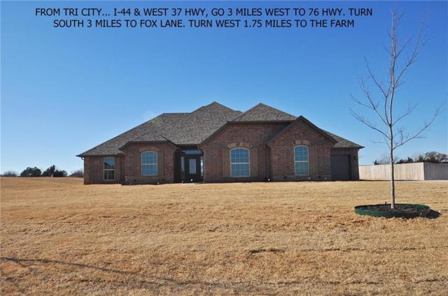 968 County Street 2982, Blanchard, OK 73010 (MLS #804177) :: Wyatt Poindexter Group