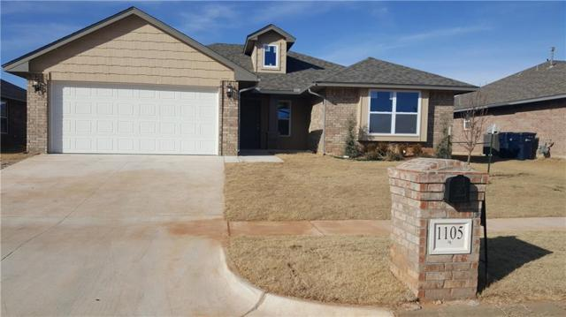 1105 Laurel Creek Drive, Yukon, OK 73099 (MLS #804463) :: Wyatt Poindexter Group
