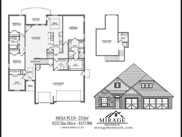 8232 Dax Drive, Edmond, OK 73034 (MLS #804515) :: Wyatt Poindexter Group