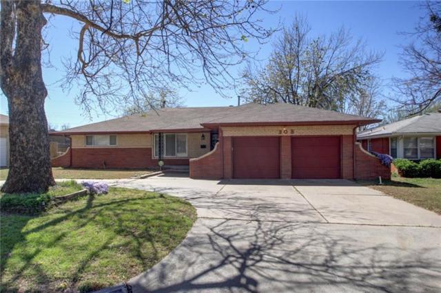 308 W Glenhaven Drive, Midwest City, OK 73110 (MLS #804531) :: UB Home Team