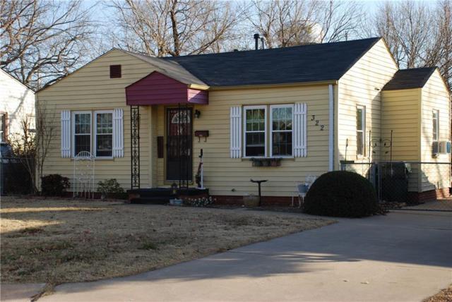 322 E Fairchild Drive, Midwest City, OK 73110 (MLS #804570) :: UB Home Team
