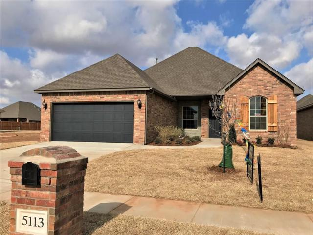 5113 SW 121st Court, Oklahoma City, OK 73173 (MLS #804602) :: Wyatt Poindexter Group