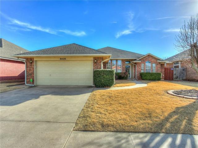 8420 NW 77th Place, Oklahoma City, OK 73132 (MLS #804710) :: Wyatt Poindexter Group