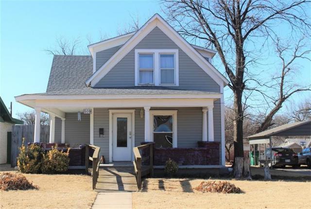 509 N Oklahoma, Mangum, OK 73554 (MLS #804842) :: Wyatt Poindexter Group