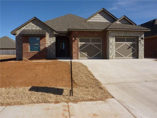 8112 Lillas Way, Yukon, OK 73099 (MLS #805084) :: Wyatt Poindexter Group