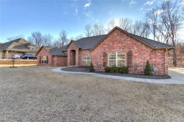 15108 SE 59th Terrace, Choctaw, OK 73020 (MLS #805304) :: Wyatt Poindexter Group