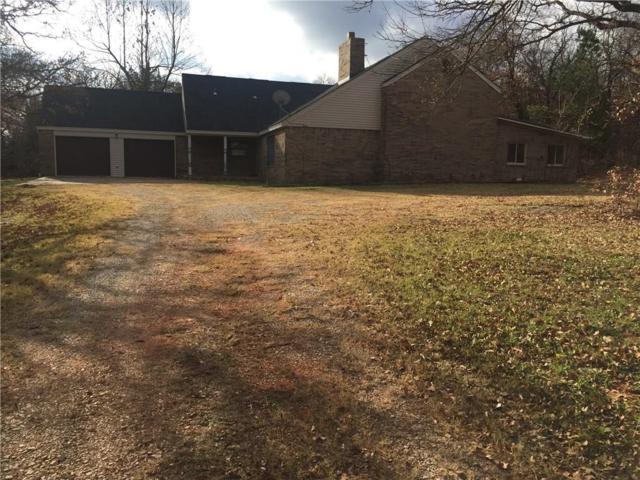 332433 E Oak Hill Drive, Wellston, OK 74881 (MLS #805370) :: Wyatt Poindexter Group