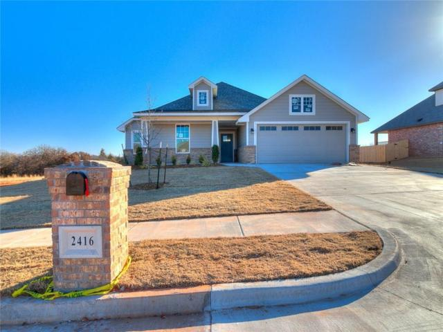 2416 Santa Monica Street, Edmond, OK 73034 (MLS #805435) :: Wyatt Poindexter Group