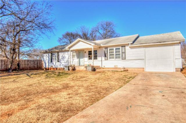 107 W. Juneau, Purcell, OK 73080 (MLS #805452) :: Wyatt Poindexter Group