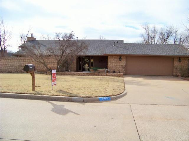 903 W Park Lane, Kingfisher, OK 73750 (MLS #805631) :: Wyatt Poindexter Group