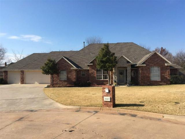 2317 SW 105th Court, Oklahoma City, OK 73170 (MLS #805656) :: Wyatt Poindexter Group