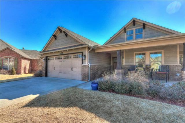 2408 Tuscan Lane, Edmond, OK 73034 (MLS #805726) :: Wyatt Poindexter Group