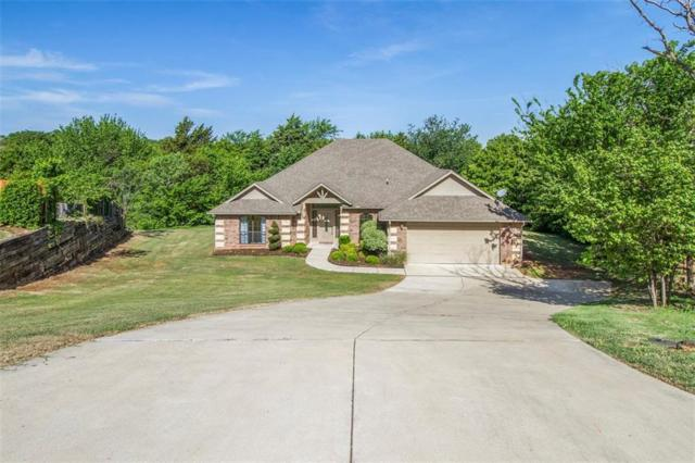 8661 Blue Heron Cove, Edmond, OK 73034 (MLS #805771) :: Wyatt Poindexter Group