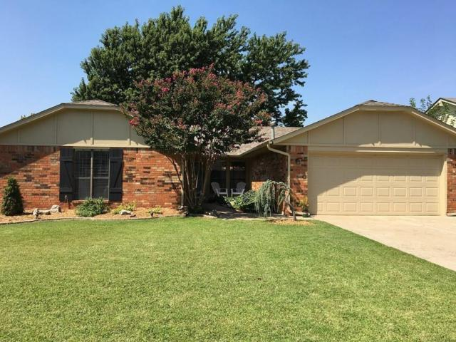 217 Brackendale, Edmond, OK 73003 (MLS #805836) :: Wyatt Poindexter Group