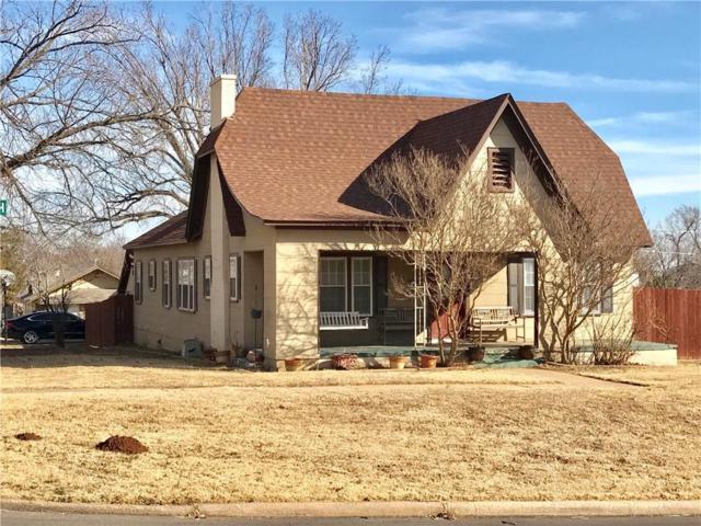 524 N 5th, Weatherford, OK 73096 (MLS #805883) :: Wyatt Poindexter Group