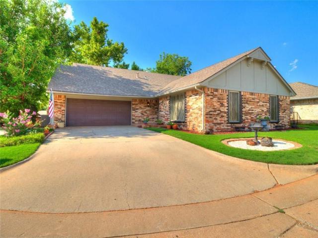 8817 Stoneleigh Court, Oklahoma City, OK 73132 (MLS #806070) :: Wyatt Poindexter Group