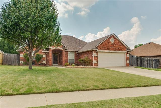 1121 S Silver Drive, Mustang, OK 73064 (MLS #806143) :: Wyatt Poindexter Group