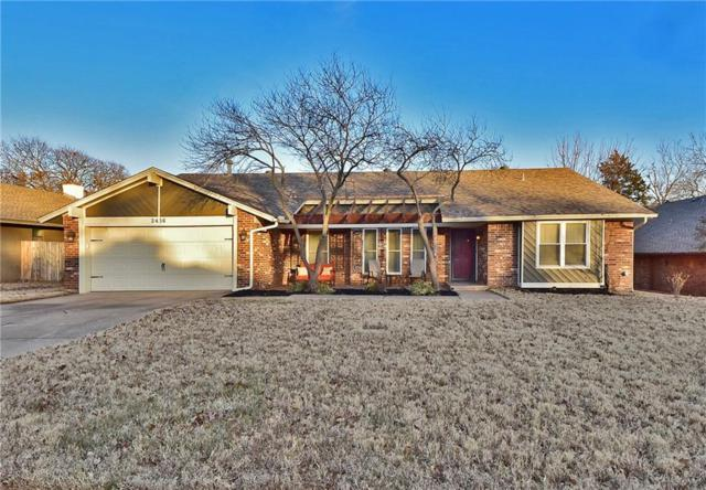 2416 Brookside Avenue, Edmond, OK 73034 (MLS #806150) :: Barry Hurley Real Estate