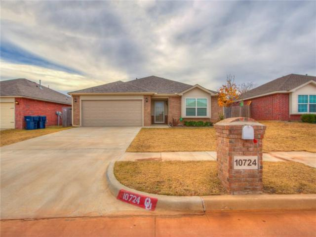 10724 NW 27th Street, Yukon, OK 73099 (MLS #806182) :: Wyatt Poindexter Group