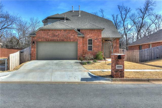 3908 Millers Creek Lane, Mustang, OK 73064 (MLS #806189) :: Wyatt Poindexter Group