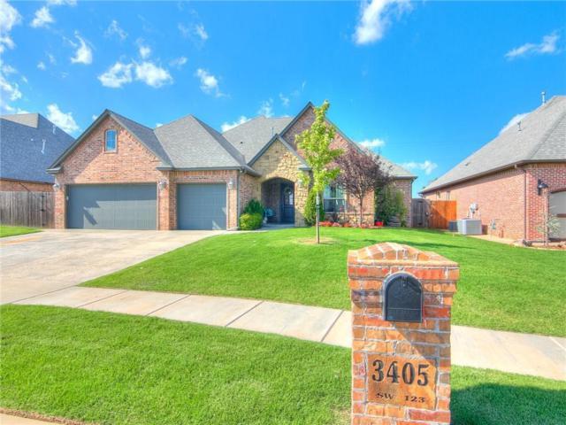 3405 SW 123rd Street, Oklahoma City, OK 73170 (MLS #806411) :: Wyatt Poindexter Group