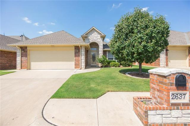 2637 NW 152nd Street, Edmond, OK 73013 (MLS #806441) :: Wyatt Poindexter Group