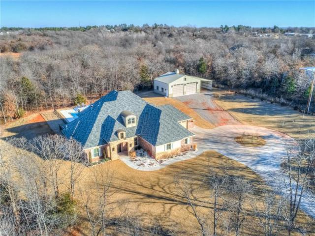 2600 S Peebly Road, Choctaw, OK 73020 (MLS #806457) :: Wyatt Poindexter Group