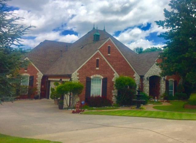 12835 Glen Aeire Road, Choctaw, OK 73020 (MLS #806519) :: Wyatt Poindexter Group