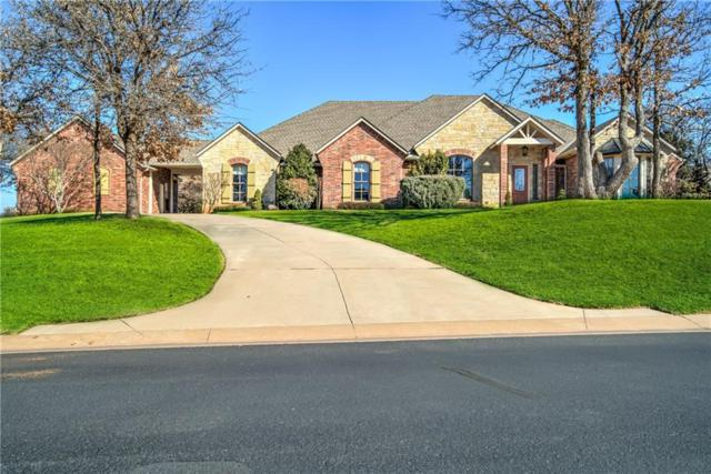 7401 NE 119th Place, Edmond, OK 73013 (MLS #806610) :: Wyatt Poindexter Group