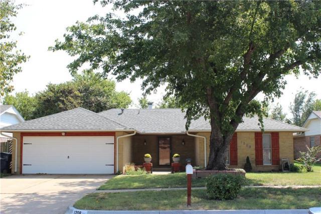 1208 SW 95th Street, Oklahoma City, OK 73139 (MLS #806644) :: Wyatt Poindexter Group