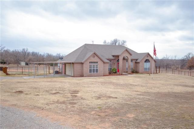 39200 W 190th, Bristow, OK 74010 (MLS #807153) :: Erhardt Group at Keller Williams Mulinix OKC
