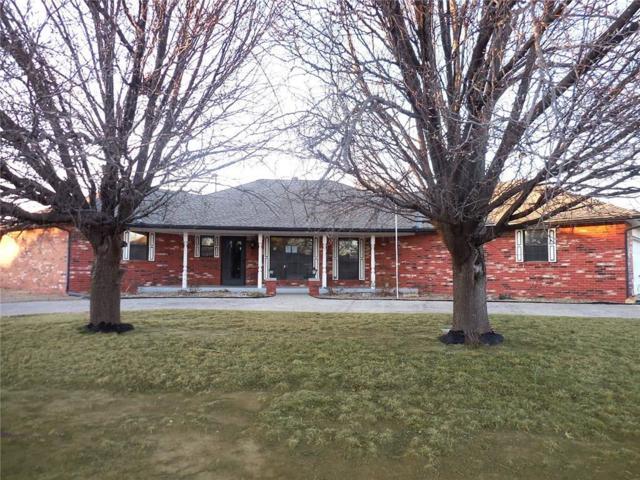 7401 NW 103rd Terrace, Oklahoma City, OK 73162 (MLS #807159) :: Wyatt Poindexter Group