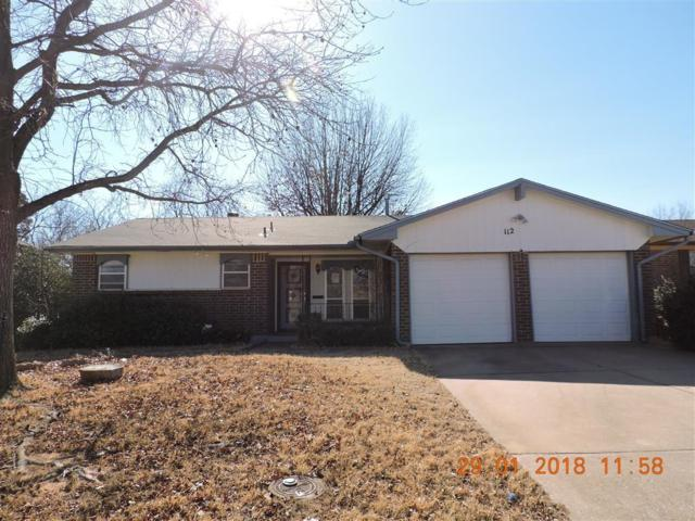 112 W Campbell Drive, Midwest City, OK 73110 (MLS #807365) :: Wyatt Poindexter Group