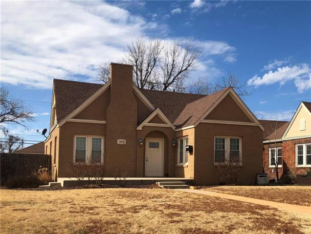 1415 N Hudson, Altus, OK 73521 (MLS #807465) :: Wyatt Poindexter Group