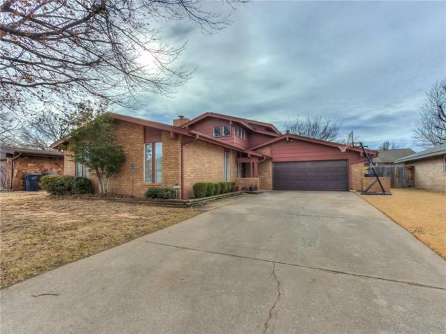 8717 Salsbury Lane, Oklahoma City, OK 73132 (MLS #807493) :: Wyatt Poindexter Group