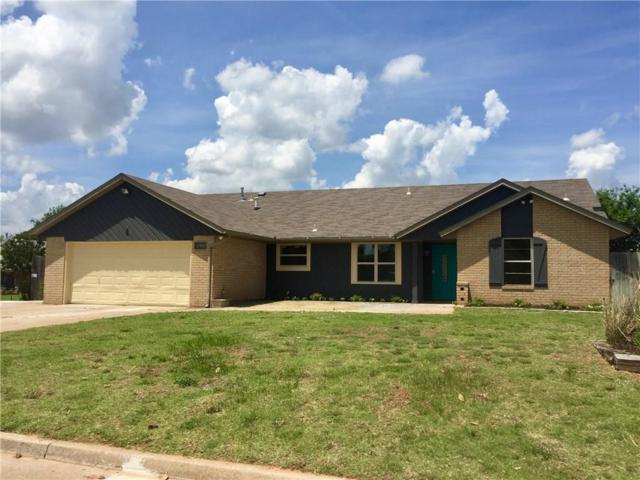 9601 Crest Drive, Midwest City, OK 73130 (MLS #807561) :: Wyatt Poindexter Group
