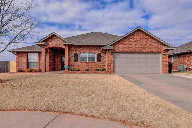 9313 Crooked Creek Lane, Moore, OK 73160 (MLS #807628) :: Barry Hurley Real Estate