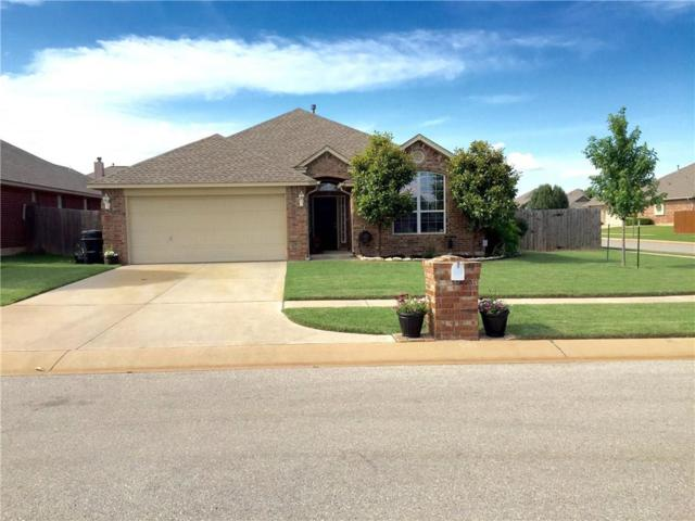 901 40th, Moore, OK 73160 (MLS #807752) :: Barry Hurley Real Estate